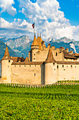 Aigle Castle, canton of Vaud, Switzerland