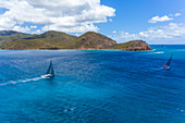 Yachts, Antigua Sailing week Leeward Islands