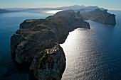 Lighthouse, Cap Formentor, Tramuntana Mountains, Mallorca, Spain