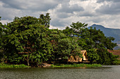 Accommodation, tree house, island, Fandee Island, Tad Lo, Laos, South, Bolaven, Southeast Asia, Saravan, Salavan