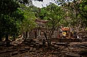 Vat Phou temple in Champasak, Laos, Asia