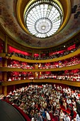 France, Marne, Reims, crowded opera before a show
