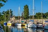 France, Charente Maritime, Marennes, marina