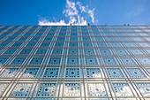 France, Paris, Institut du Monde Arabe (IMA), designed by the architects Jean Nouvel and Architecture-Studio
