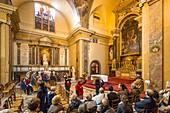 France, Paris, Heritage Days 2017, Institut Catholique, guided tour of the baroque church of Saint Joseph des Carmes