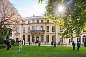 France, Paris, Heritage Days 2017, Hotel de Rochechouart, currently Ministry of National Education