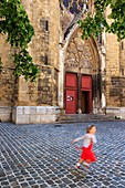 France, Bouches du Rhone, Aix en Provence, Mazarin district, Cardinale street, Saint John of Malta (13th century), historical monument