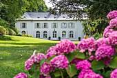 France, Somme, Baie de Somme, the medieval city of Saint-Valery-sur-Somme, Chateau du Romerel, Boutique guest house