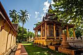 Wat Si Saket Temple in Vientiane, Laos, Asia