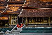 Wat Xieng Thong Temple in Luang Prabang, Laos, Asia