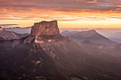 France, Isere, Vercors Regional Natural Park, National Nature Reserve of the Vercors Highlands, Mount Aiguille (alt : 2087 m)