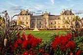 France, Paris, Luxembourg Garden, the Senate