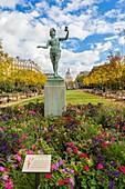 France, Paris, Luxembourg Garden