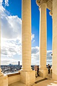 France, Paris, Latin Quarter, the Pantheon (1790) in neo classical style