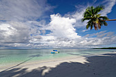 The dream beach Pasir Panjang in the north of Kei Kecil, Banda Sea, Kei Islands, Moluccas, Indonesia, Southeast Asia, Asia