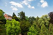 Lustschlösschen Belvedere, Badenweiler, Markgräflerland, Black Forest, Baden-Wuerttemberg, Germany