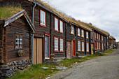 Sleggveien in der Bergbaustadt Roeros, UNESCO Welterbe, Soer-Troendelag, Norwegen, Europa