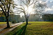 Unity Square, Nikolaikirche, Potsdam, State of Brandenburg, Germany