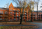 Rote Kaserne, today's residential building, Potsdam, State of Brandenburg, Germany