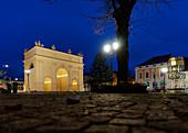 Square at the Brandenburg Gate, Potsdam, State of Brandenburg, Germany