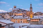 France, Puy de Dome, Billom, Saint Cerneuf church and Belfry, Livradois Forez Regional Natural Park