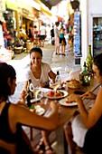 Frankreich, Haute Corse, Balagne, Calvi, La table di a Loghia Restaurant