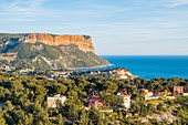 France, Bouches du Rhone, Cassis and Cap Canaille