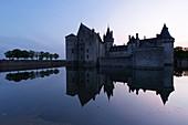 France, Loiret, Loire valley listed as World Heritage by UNESCO, Sully sur Loire, 14th and 17th century castle (compulsory mention : chateau de Sully sur Loire, Loiret department property)