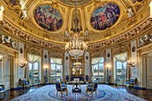 France, Paris, hôtel de Salm; palace of the Legion of honor, the Rotunda room