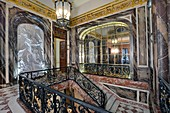 France, Paris, hôtel de Béhague, embassy of Romania, the staircase