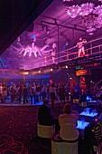 France, Bas Rhin, Kirrwiller, Royal Palace Music Hall cabaret, The Lounge Club