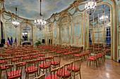 France, Paris, hotel de Behague, embassy of Romania, the Golden room