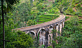 Railway viaduct,Ella,Sri Lanka