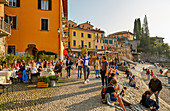 Town of Varenna on Lake Como in the north of Italy, Lombardy, Italian Lakes, Italy, Europe