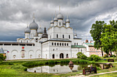 Resurrection Gate Church, built 1670, Kremlin, Rostov Veliky, Golden Ring, Yaroslavl Oblast, Russia, Europe
