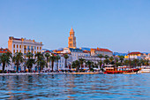Split Harbour, Split, Dalmatian Coast, Croatia, Europe