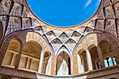 Tabatabai House, Light Hole, Isfahan Province, Islamic Republic of Iran, Middle East