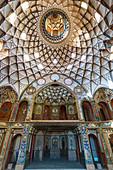 Borujerdi House, main dome, Kashan, Isfahan Province, Islamic Republic of Iran, Middle East