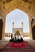 Northside Iwan, Masjed-e Djame (Jameh Mosque), UNESCO World Heritage Site, Esfahan, Iran, Middle East