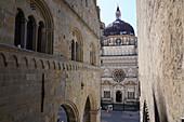 The Cappella Colleoni, Bergamo, Lombardy, Italy, Europe