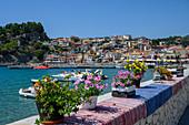 The colourful town of Parga, Parga, Preveza, Greece, Europe