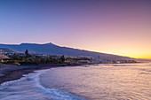 Playa Jardin, Puerto de la Cruz, Tenerife, Canary Islands, Spain, Atlantic Ocean, Europe