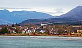 Ortschaft Nesna, Provinz Nordland, Nordland, Norwegen, Europa