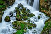 Idyllic brook in the Salzburg region, Austria, Europe
