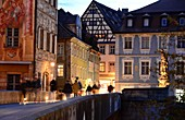 at the old town hall, Bamberg, Upper Franconia, Bavaria, Germany