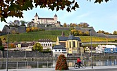 Marienberg Fortress, Würzburg, Lower Franconia, Bavaria, Germany