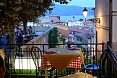 Ausblick in Portoferraio, Elba, Toskana, Italien