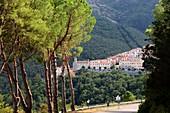 Marciana Alta under Monte Capanne, West Elba, Toscana, Italy
