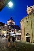 Palazzo delle Ragione in Piazza Erbe, Mantua; Lombardy, Italy