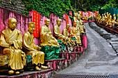 China, Hong Kong, Kowloon, Ten Thousand Buddhas Monastery